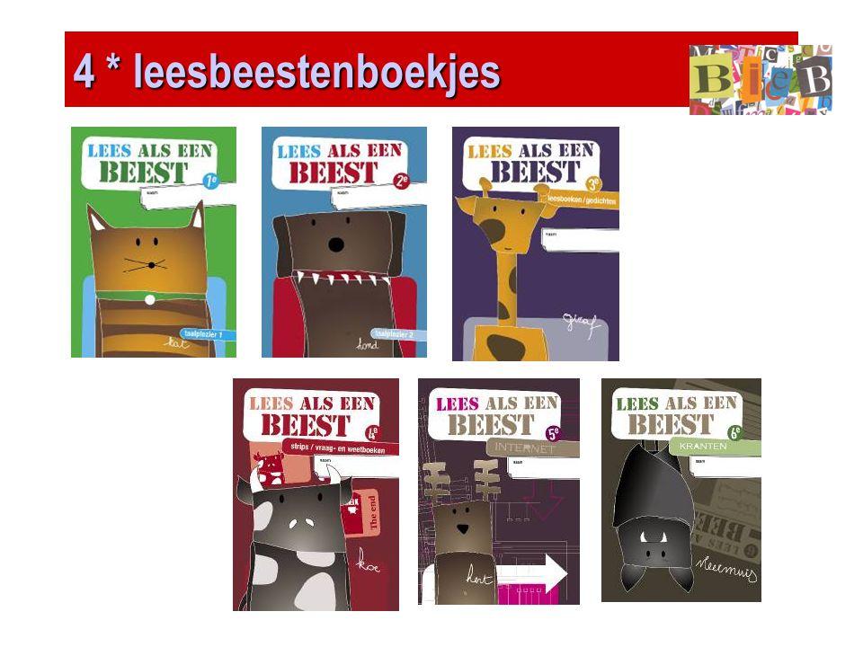4 * leesbeestenboekjes