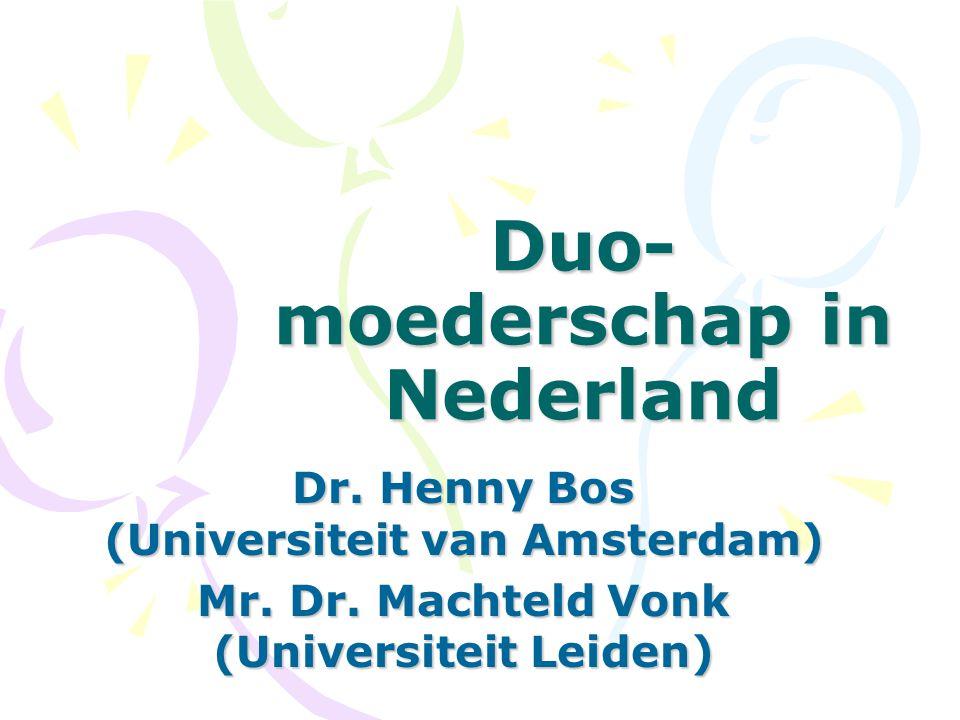 Duo-moederschap in Nederland