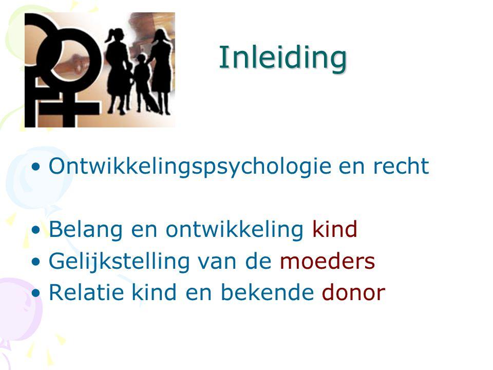 Inleiding Ontwikkelingspsychologie en recht