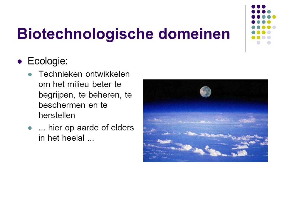 Biotechnologische domeinen