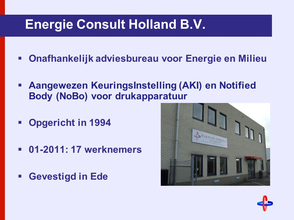 Energie Consult Holland B.V.