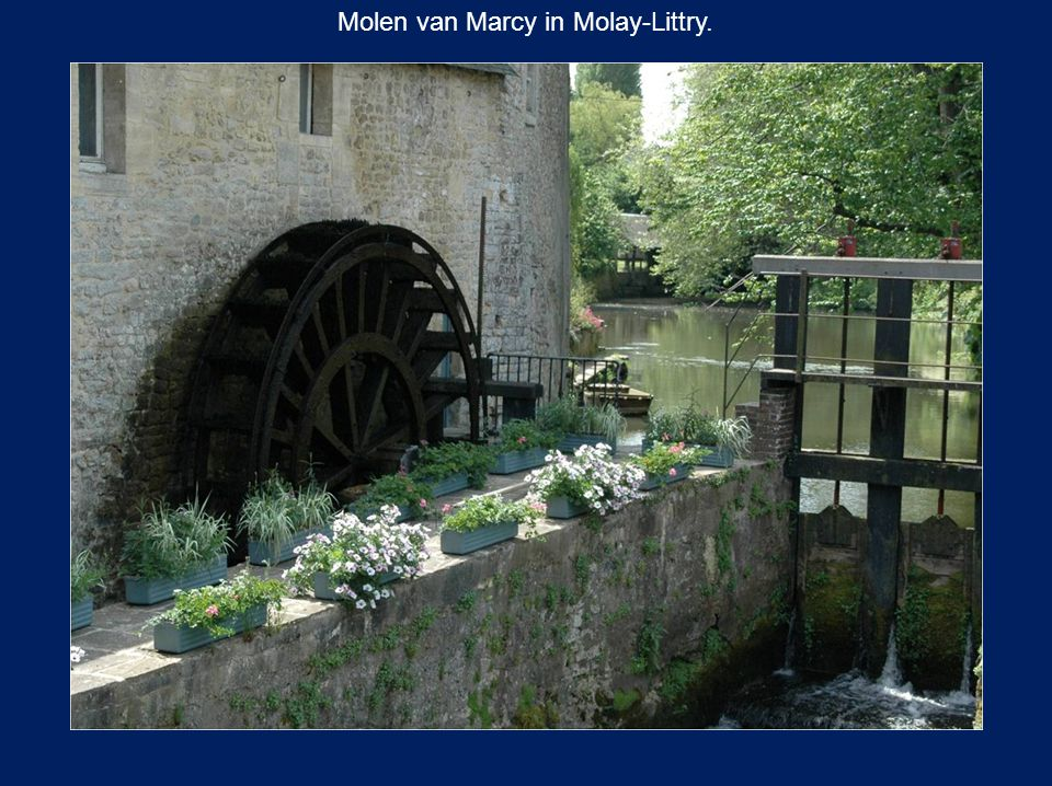 Molen van Marcy in Molay-Littry.