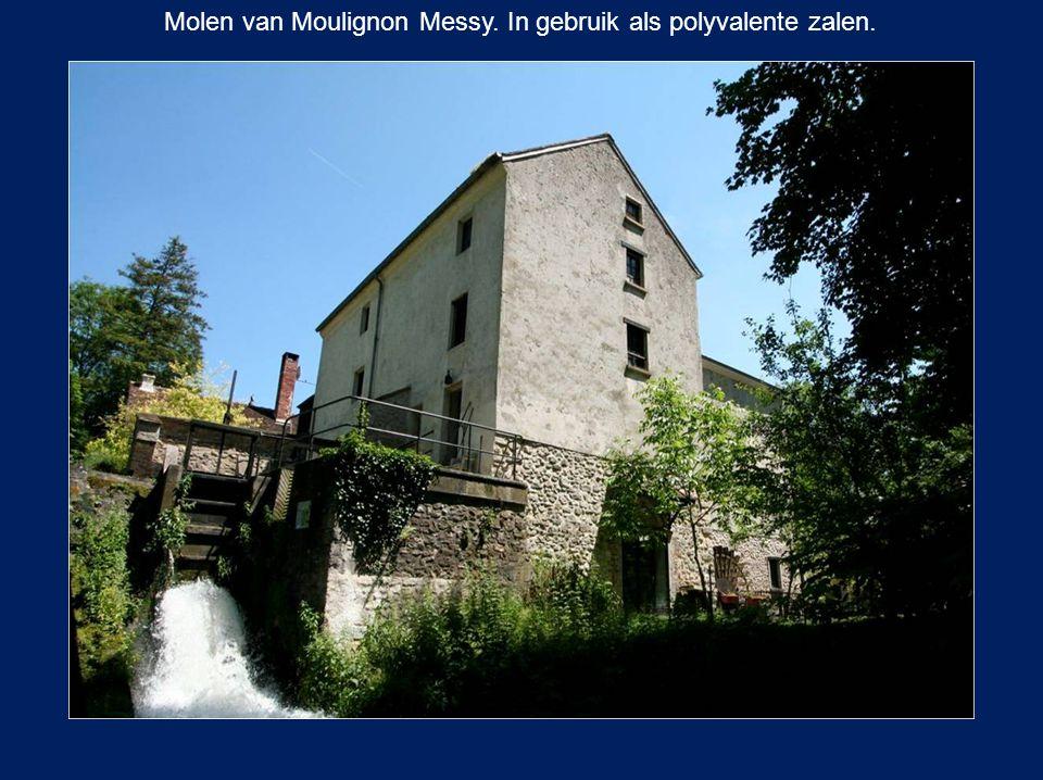 Molen van Moulignon Messy. In gebruik als polyvalente zalen.