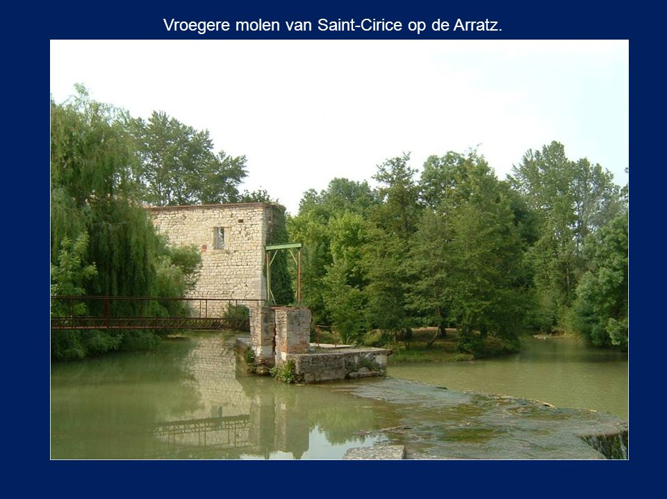 Vroegere molen van Saint-Cirice op de Arratz.