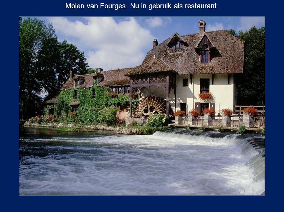 Molen van Fourges. Nu in gebruik als restaurant.