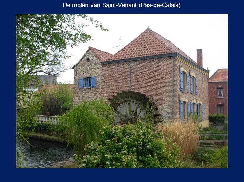 De molen van Saint-Venant (Pas-de-Calais)