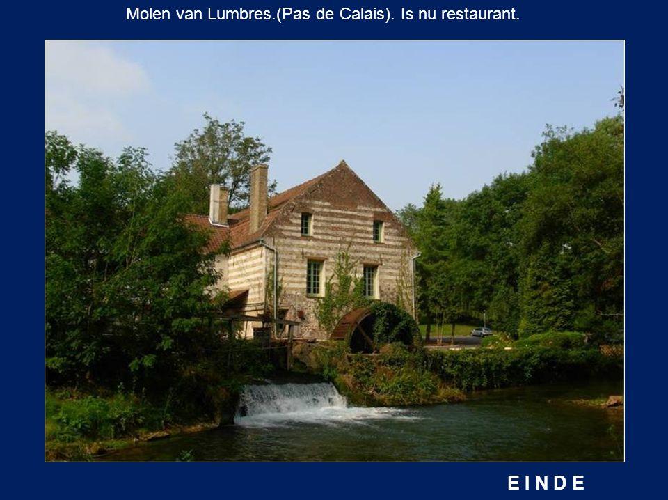 Molen van Lumbres.(Pas de Calais). Is nu restaurant.