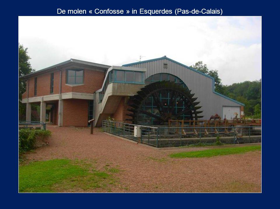 De molen « Confosse » in Esquerdes (Pas-de-Calais)