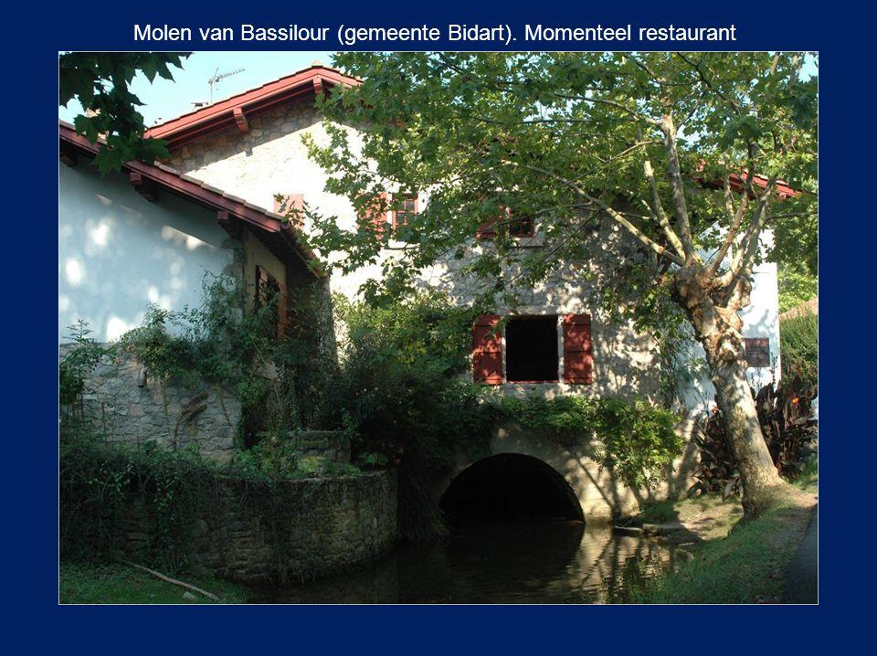 Molen van Bassilour (gemeente Bidart). Momenteel restaurant