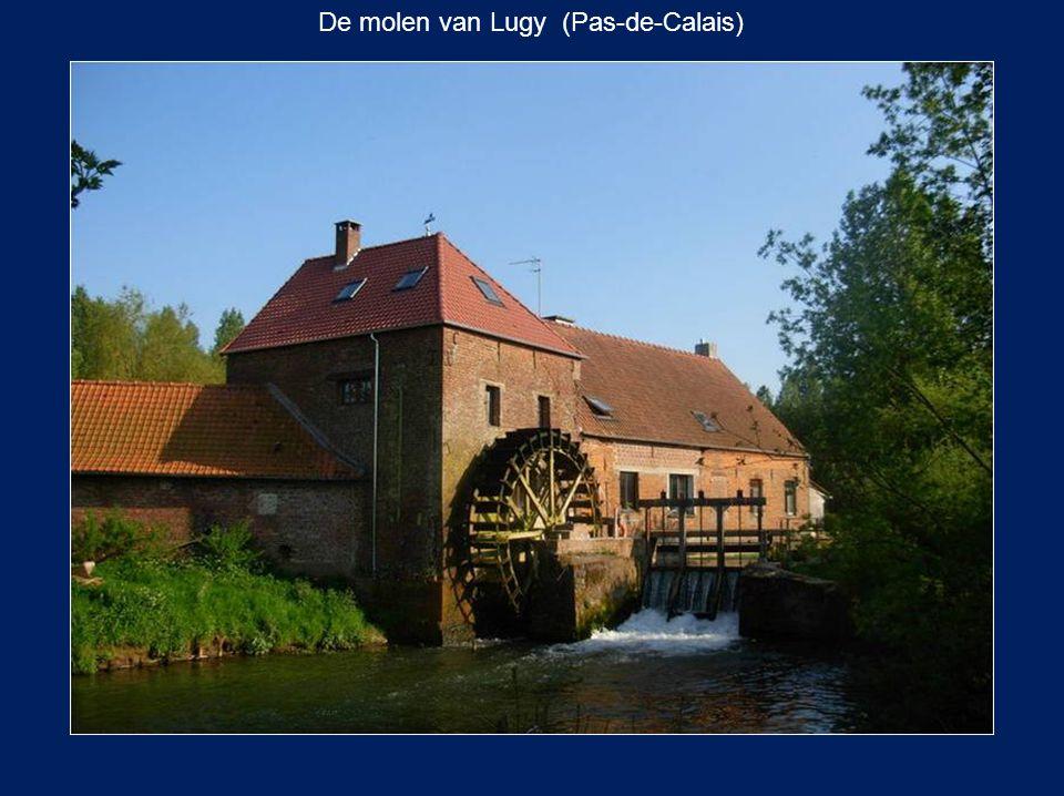 De molen van Lugy (Pas-de-Calais)