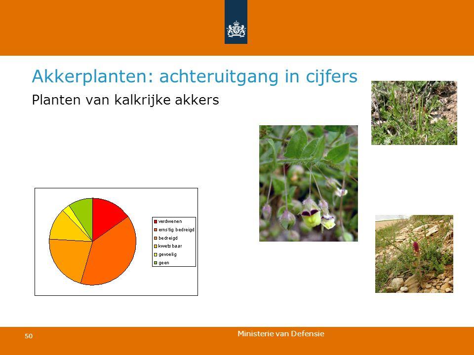Akkerplanten: achteruitgang in cijfers