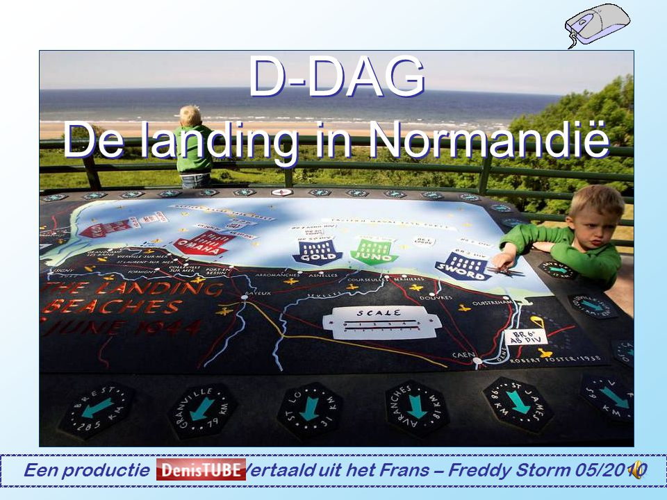 D-DAG De landing in Normandië