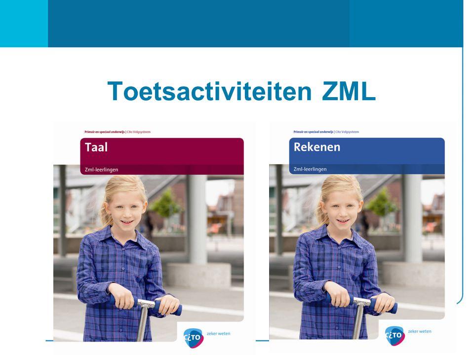 Toetsactiviteiten ZML
