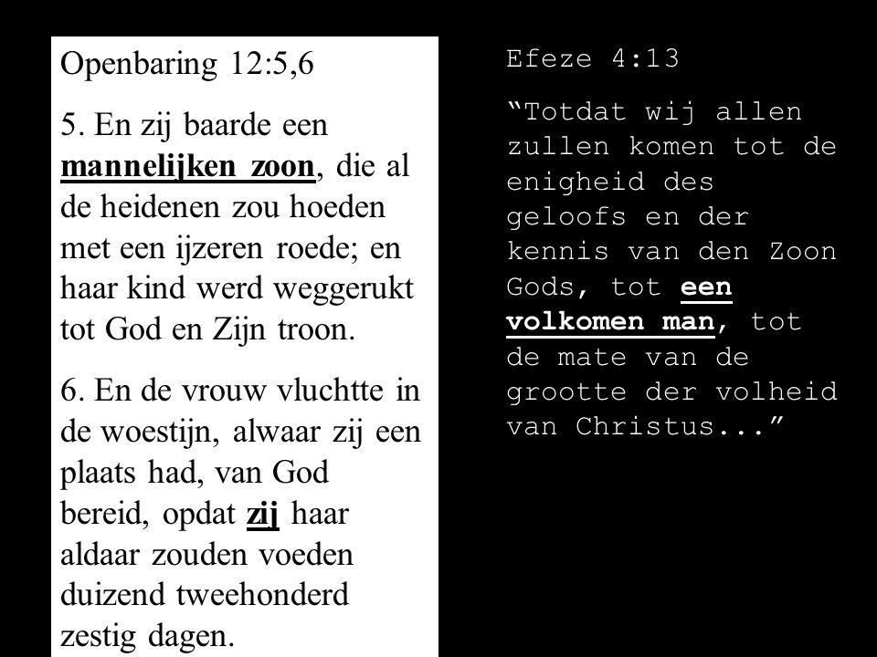 Openbaring 12:5,6