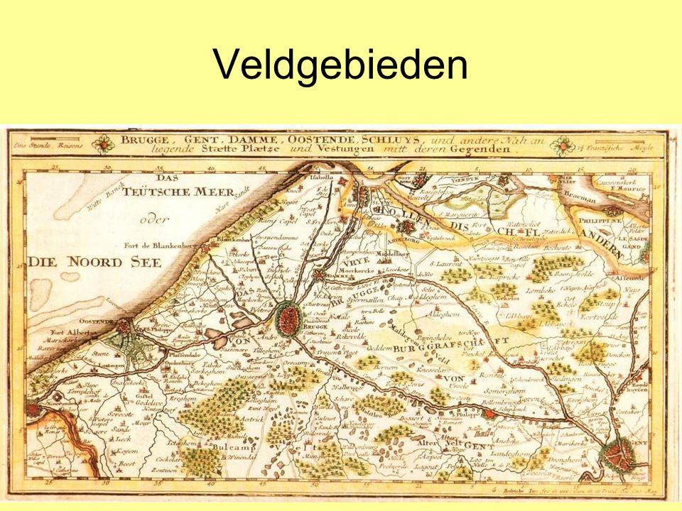 Veldgebieden Grote ontginningen in de veldgebieden (1):