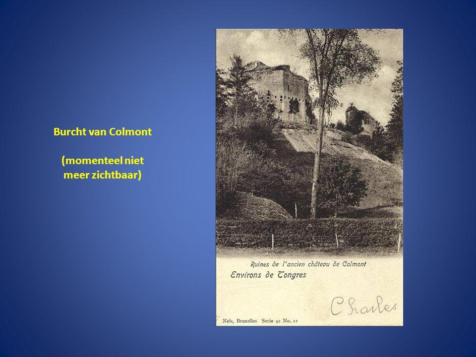 Burcht van Colmont (momenteel niet meer zichtbaar)