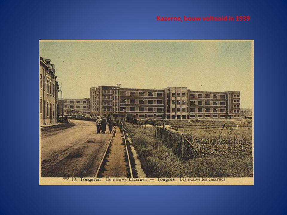 Kazerne, bouw voltooid in 1939