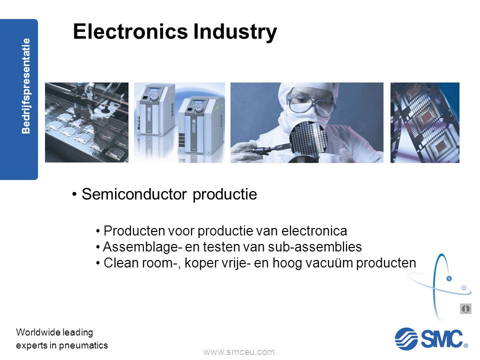 Electronics Industry Semiconductor productie
