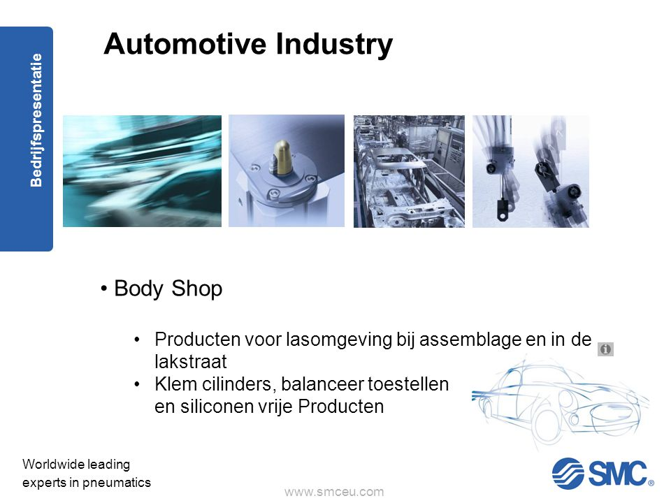 Automotive Industry Body Shop