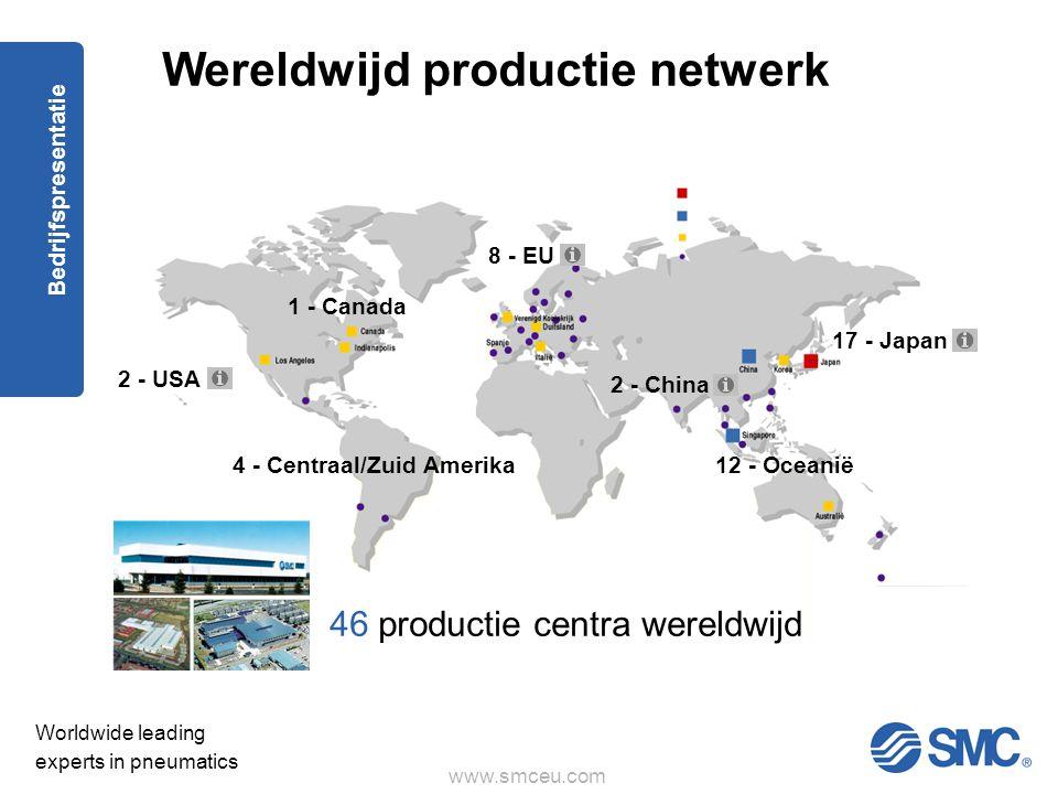 Wereldwijd productie netwerk