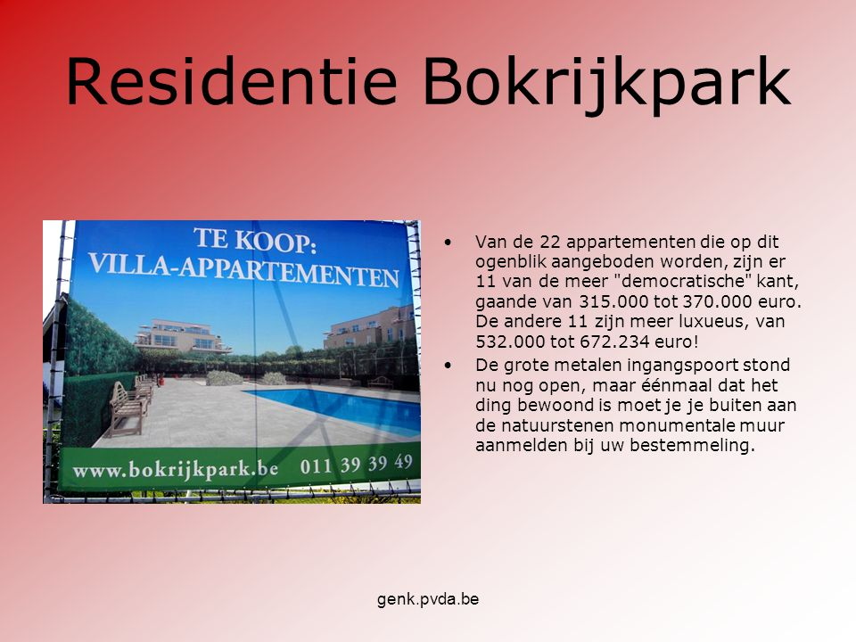Residentie Bokrijkpark