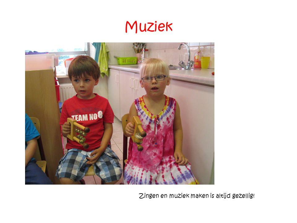 Zingen en muziek maken is altijd gezellig!