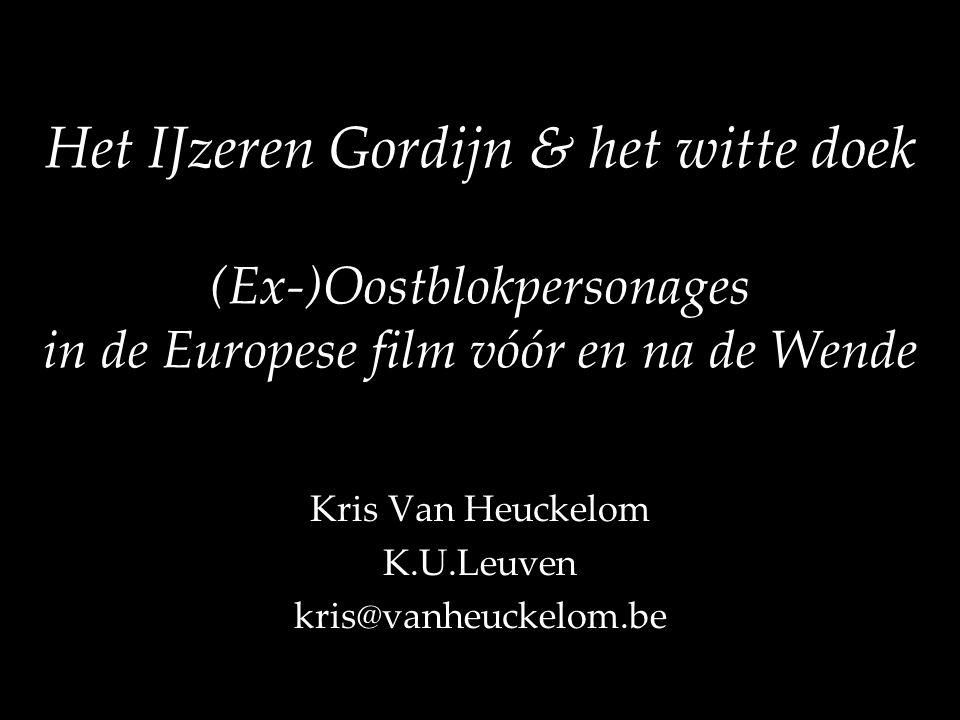 Kris Van Heuckelom K.U.Leuven kris@vanheuckelom.be