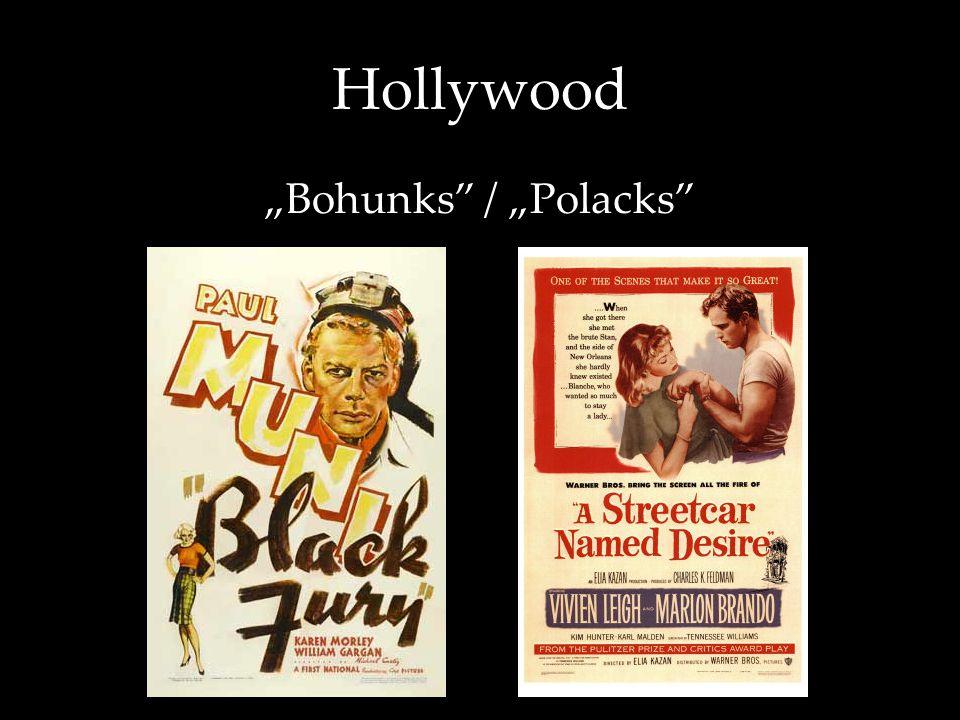 """Hollywood """"Bohunks / """"Polacks"""