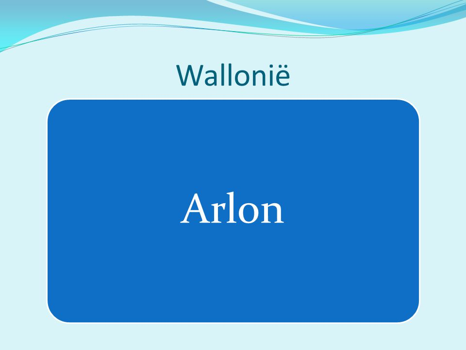 Wallonië Arlon