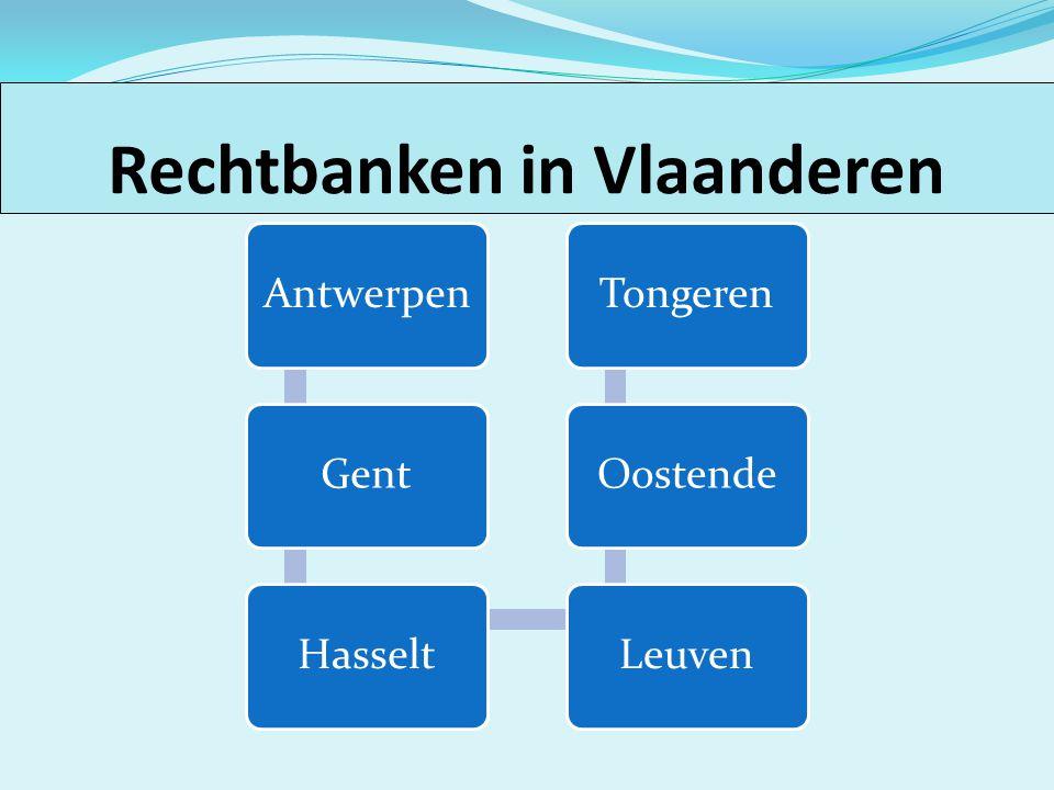 Rechtbanken in Vlaanderen