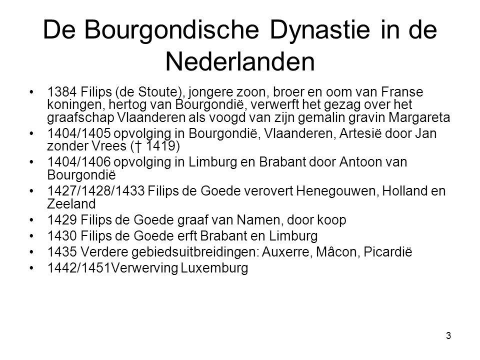 De Bourgondische Dynastie in de Nederlanden