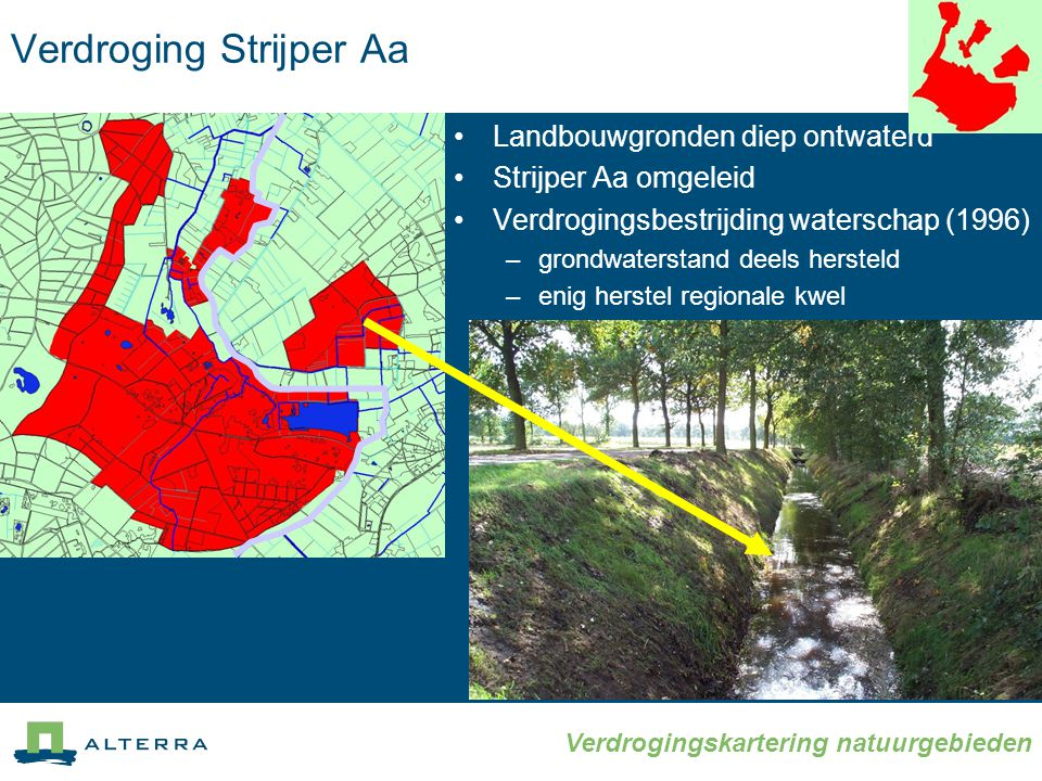 Verdroging Strijper Aa