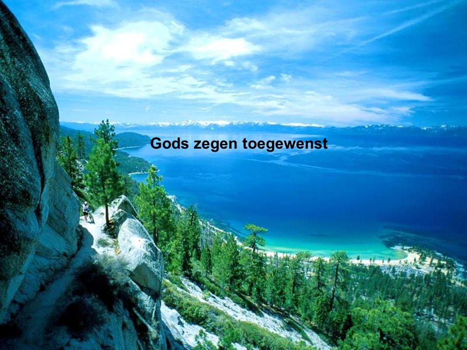 Gods zegen toegewenst