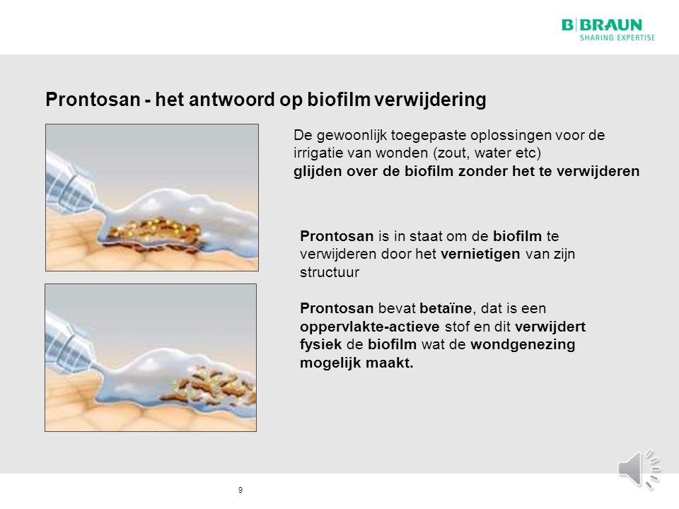Prontosan - het antwoord op biofilm verwijdering