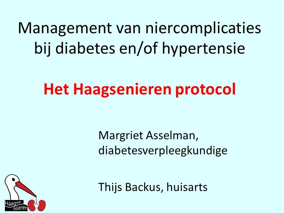 Het Haagsenieren protocol