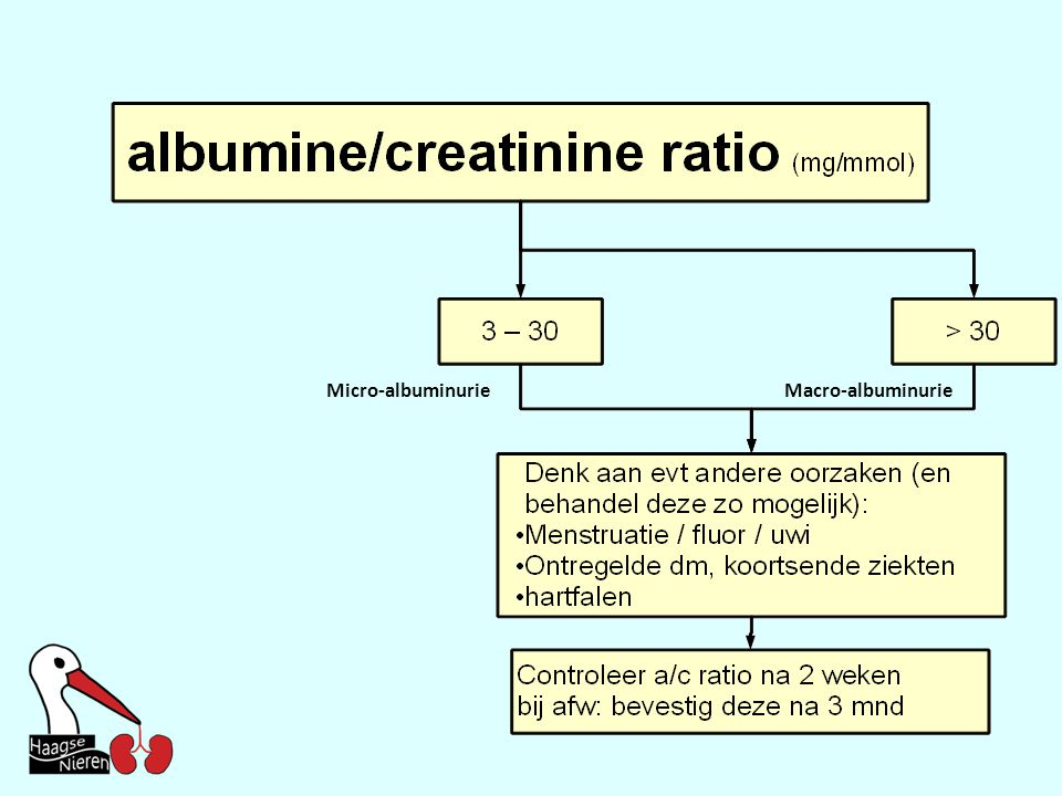 Micro-albuminurie Macro-albuminurie
