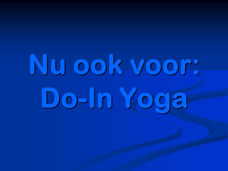 Nu ook voor: Do-In Yoga
