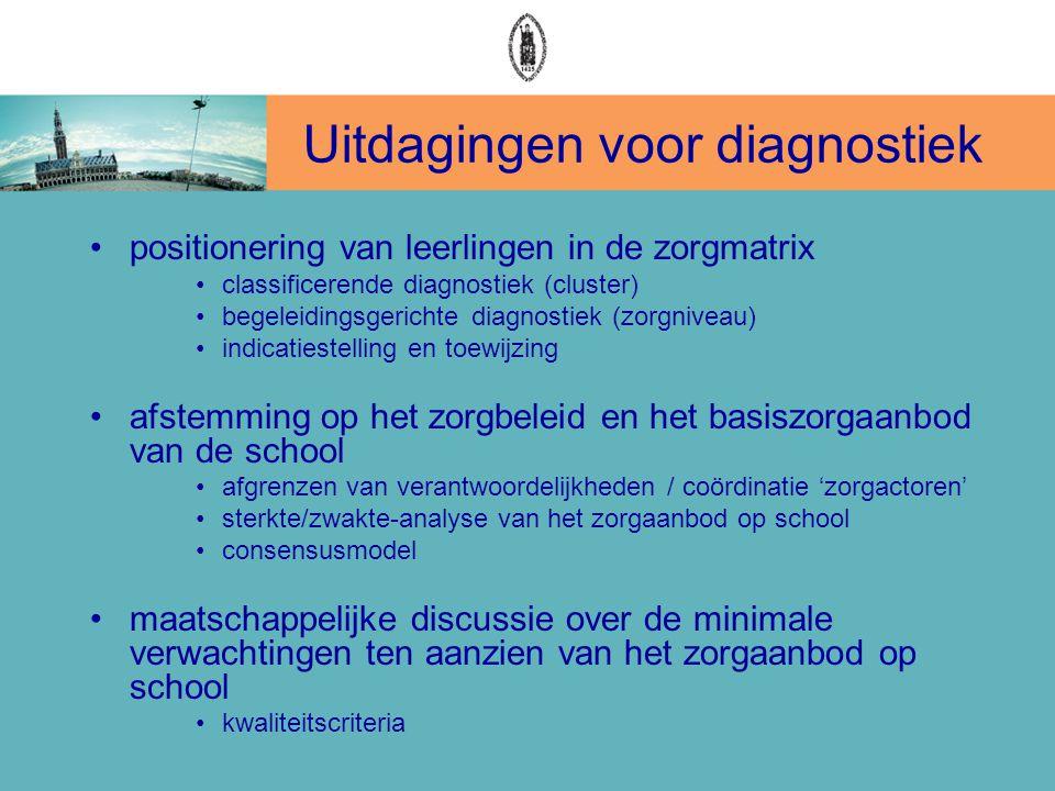 Uitdagingen voor diagnostiek