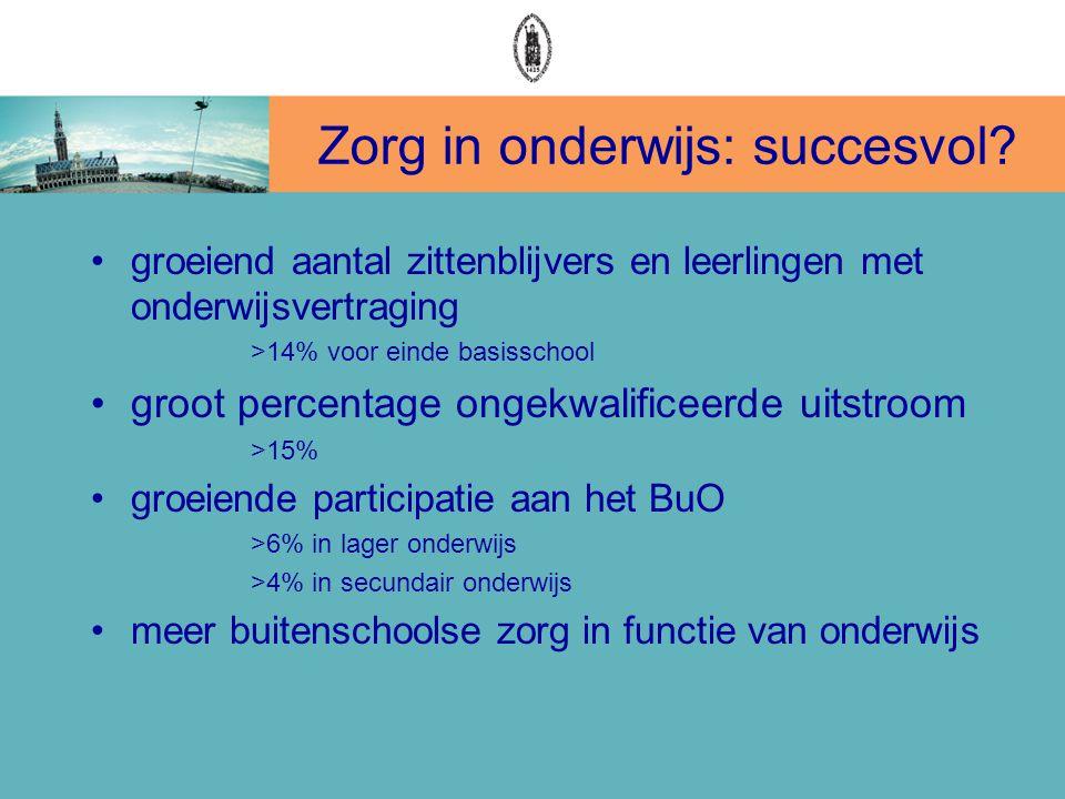 Zorg in onderwijs: succesvol