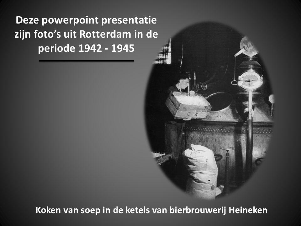Deze powerpoint presentatie zijn foto's uit Rotterdam in de