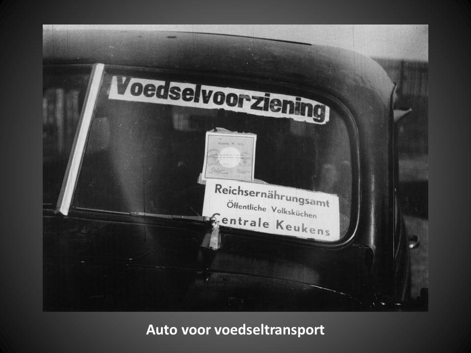 Auto voor voedseltransport