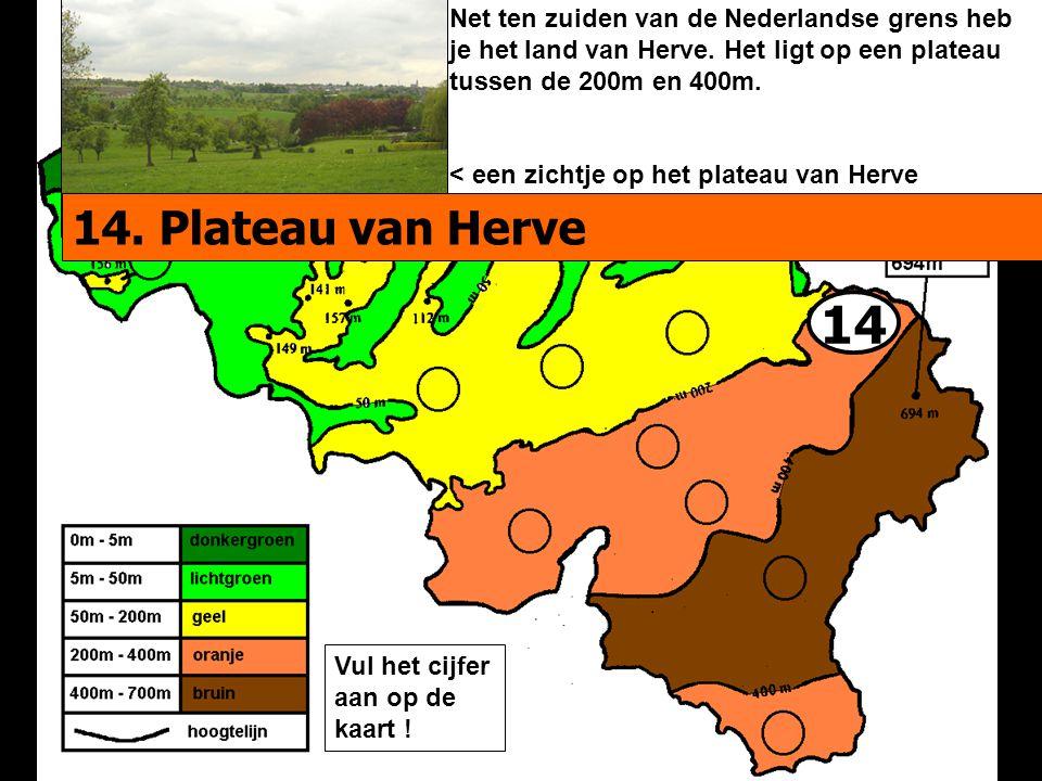 Net ten zuiden van de Nederlandse grens heb je het land van Herve
