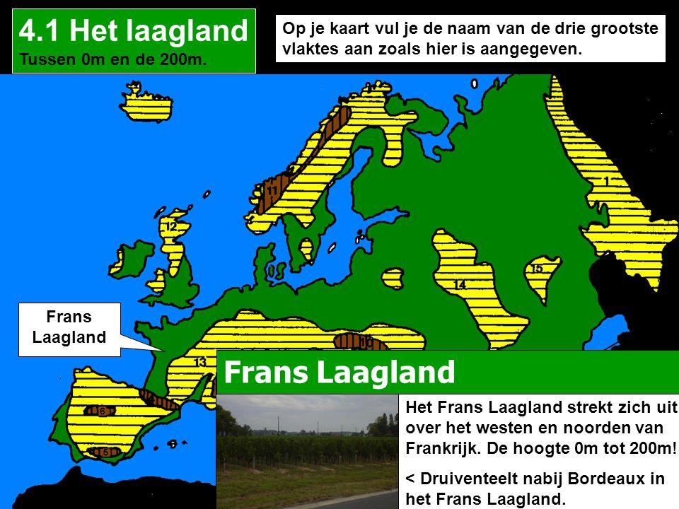 4.1 Het laagland Frans Laagland