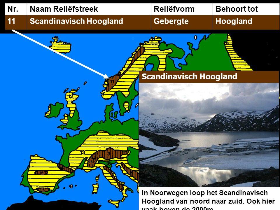 Scandinavisch Hoogland Gebergte Hoogland