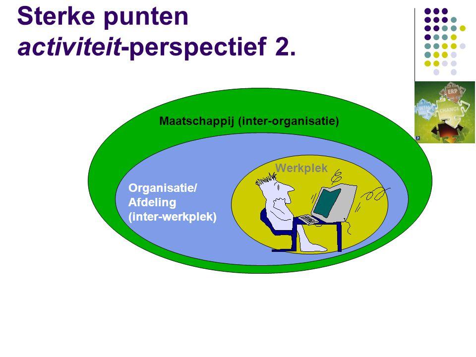Sterke punten activiteit-perspectief 2.