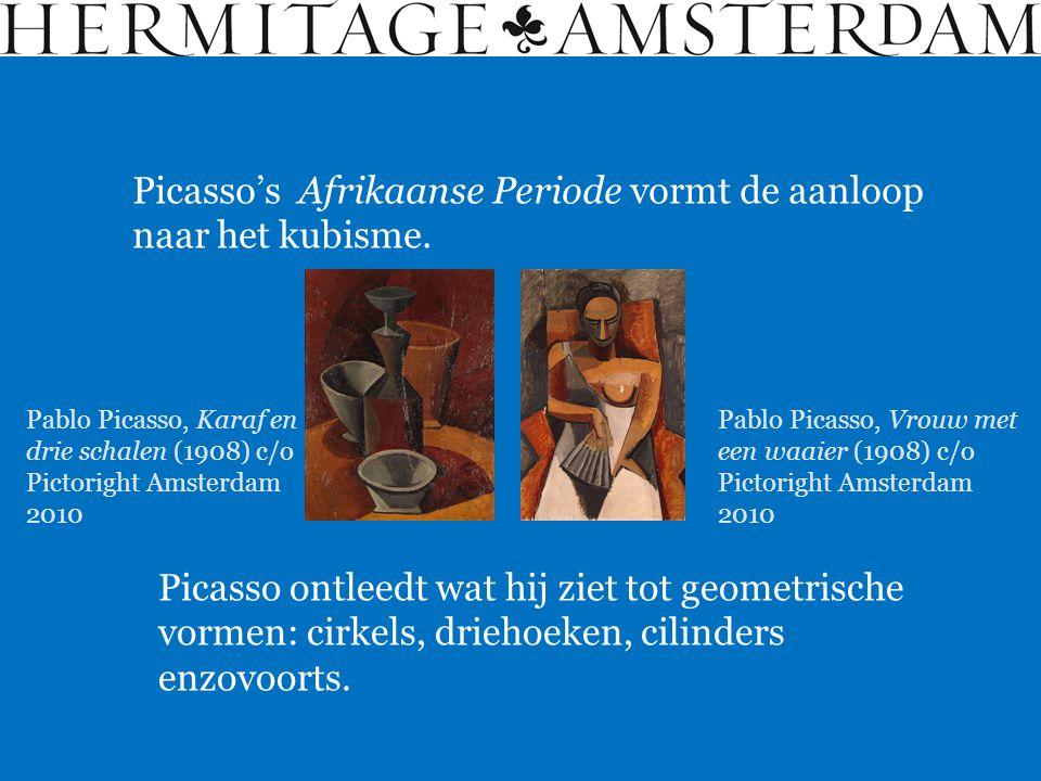 Picasso's Afrikaanse Periode vormt de aanloop naar het kubisme.