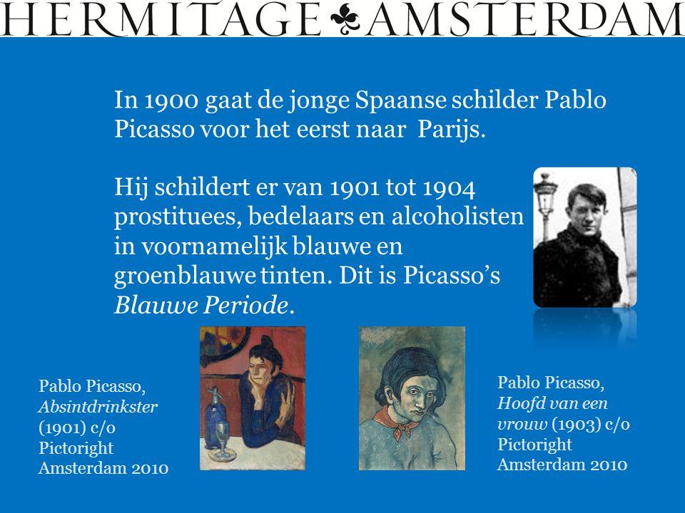 In 1900 gaat de jonge Spaanse schilder Pablo Picasso voor het eerst naar Parijs.