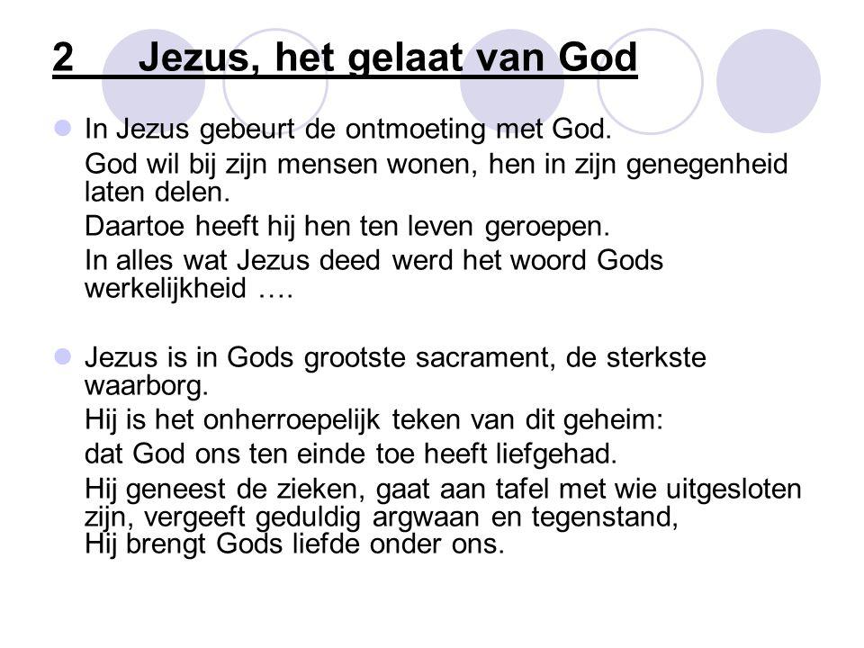 2 Jezus, het gelaat van God