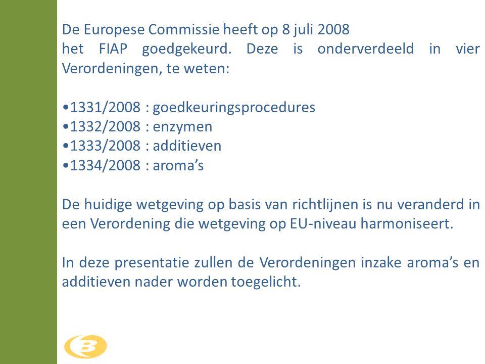 De Europese Commissie heeft op 8 juli 2008