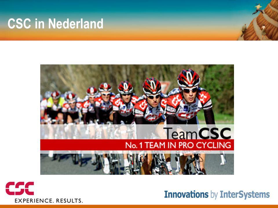 CSC in Nederland Ruim 600 medewerkers fysiek in Nederland, 78000 wereldwijd. Projecten: C2000 project (communicatie zwaailichten branche )